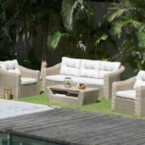 Picture of MARTINIQUE 5 SEAT LOUNGE SET