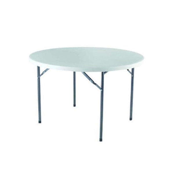 Picture of ROUND FOLDING TABLE 120 X 74 CM