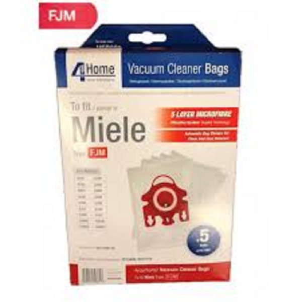 Picture of MIELE HIGH FILTRATION  HOOVER BAGS EXSMFB331