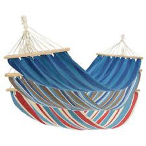 Picture of HAMMOCK 3 ASST WITH CREAM ROPE & BIRCH BAR