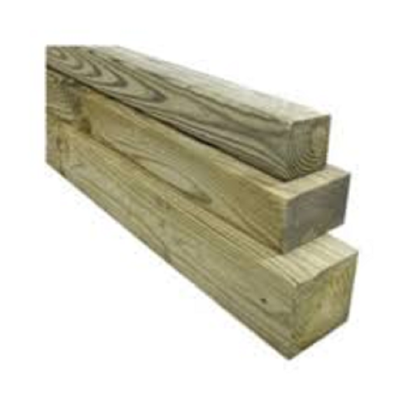 Picture of 4.8M 100 X 75 RWD TREATED TIMBER