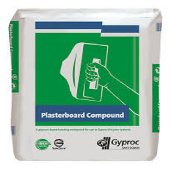 Picture of 25KG BAG GYPROC COMPOUND