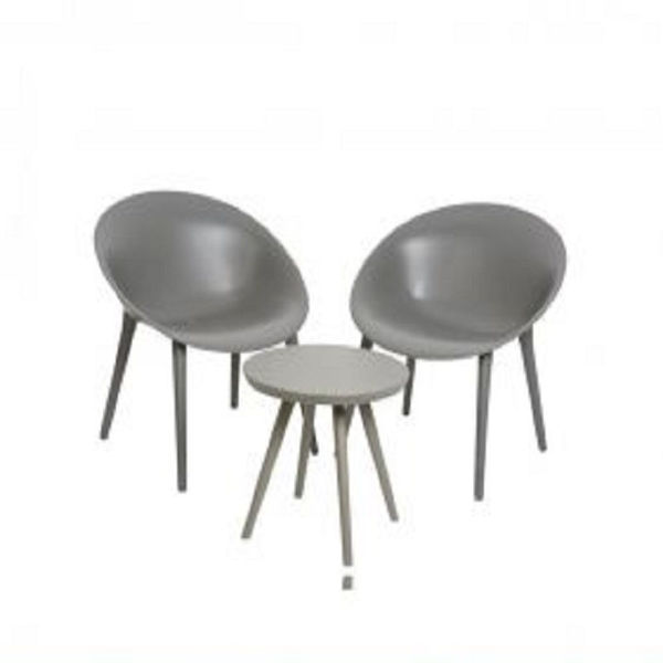 Picture of MADRID BISTRO SET ANTHRACITE