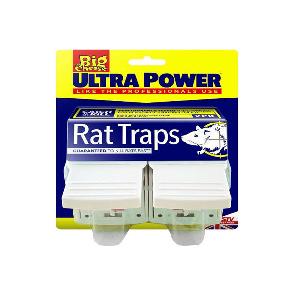 Picture of STV149 ULTRA POWER RAT TRAPS -TWIN PK