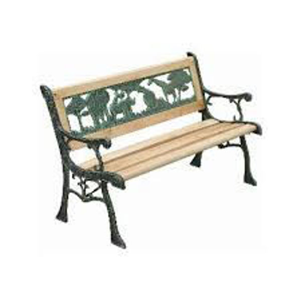 Picture of KID'S WOODEN GARDEN BENCH