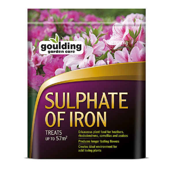 Picture of 2KG GOULDINGS SULPHATE OF IRON