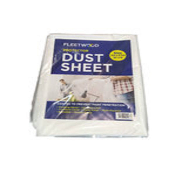 Picture of 12 X 9 PLASTIC DUST SHEET AA2849DS