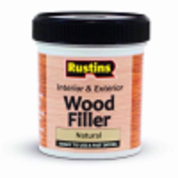 Picture of 250ML RUSTINS WOOD FILLER NATURAL