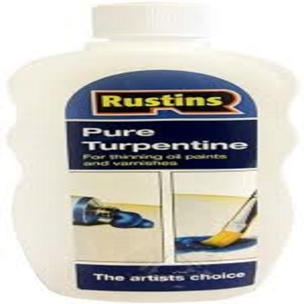 Picture of 300ML RUSTINS PURE TURPENTINE