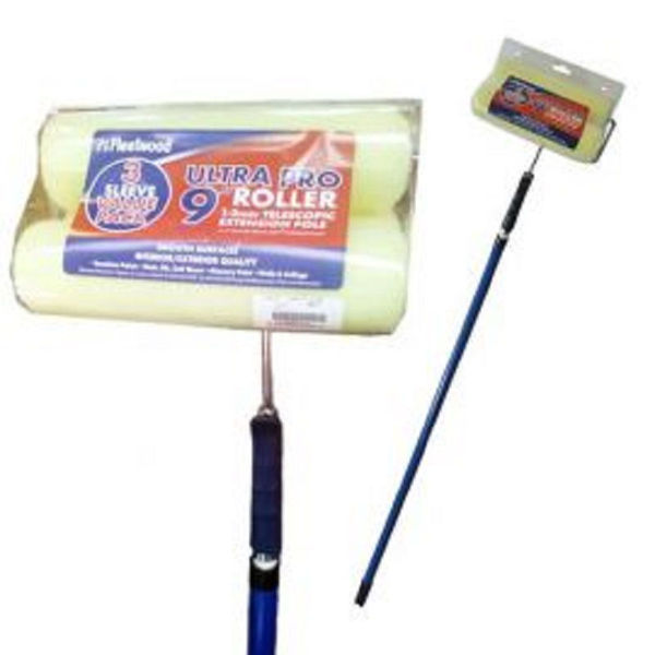"Picture of 9""ULTRA PRO ROLLER TELESCOPIC  WITH 3 SLEEVES"