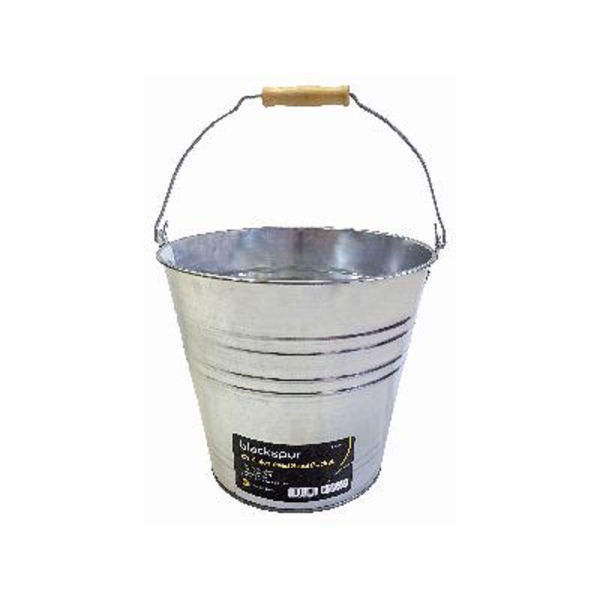 Picture of BLACKSPUR 12L GALVANISED STEEL BUCKET GB201