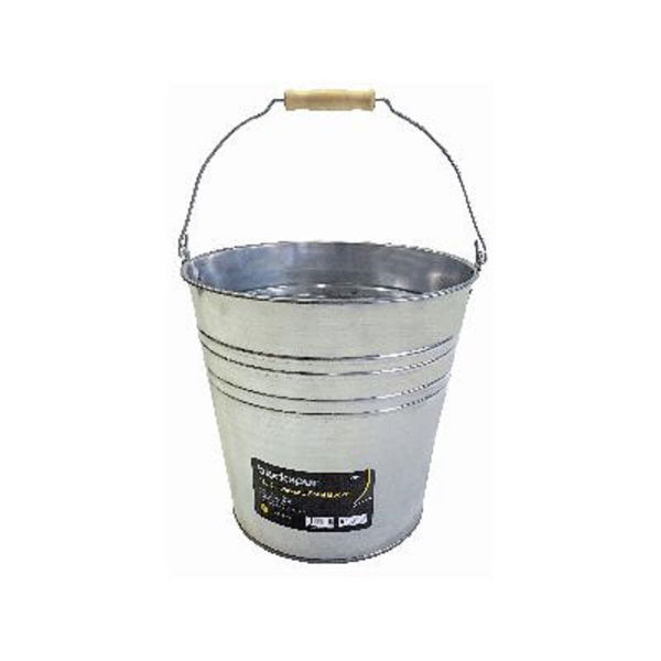 Picture of BLACKSPUR 15L GALVANISED STEEL BUCKET GB204