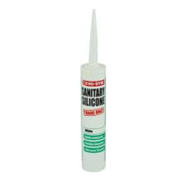 Picture of 310ML EVOSTIK SILICONE SANITARY WHITE