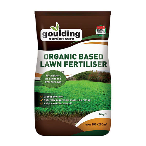 Picture of GOULDINGS ORGANIC BASE LAWN FERTILIZER
