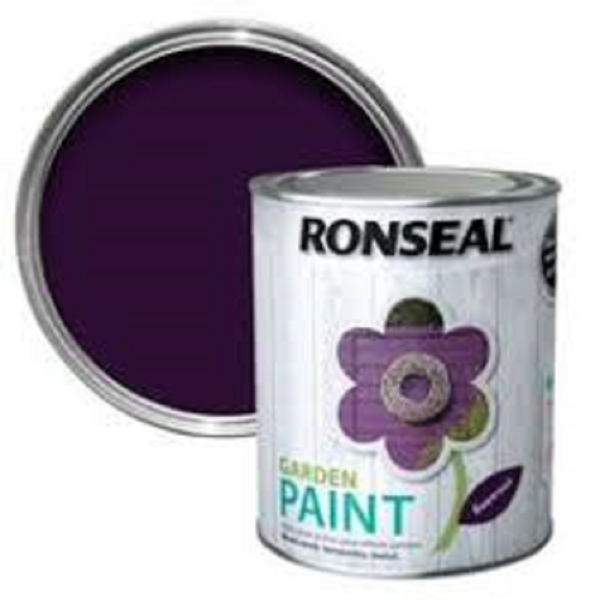 Picture of 2.5LTR  RONSEAL GARDEN PAINT  BEETROOT