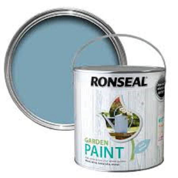 Picture of 2.5LTR  RONSEAL GARDEN PAINT  COOL BREEZE