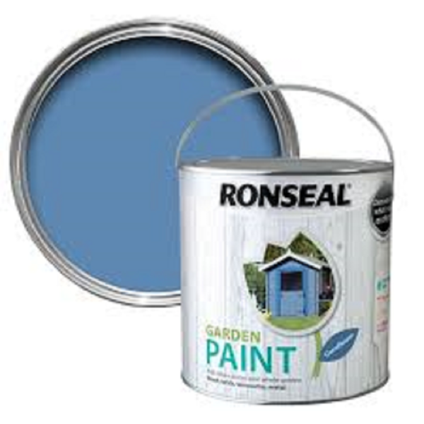 Picture of 2.5LTR  RONSEAL GARDEN PAINT  CORNFLOWER