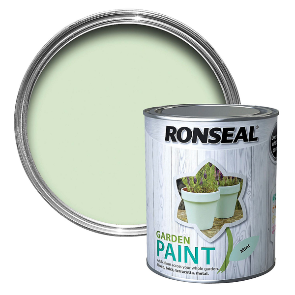 Picture of 2.5LTR  RONSEAL GARDEN PAINT  MINT