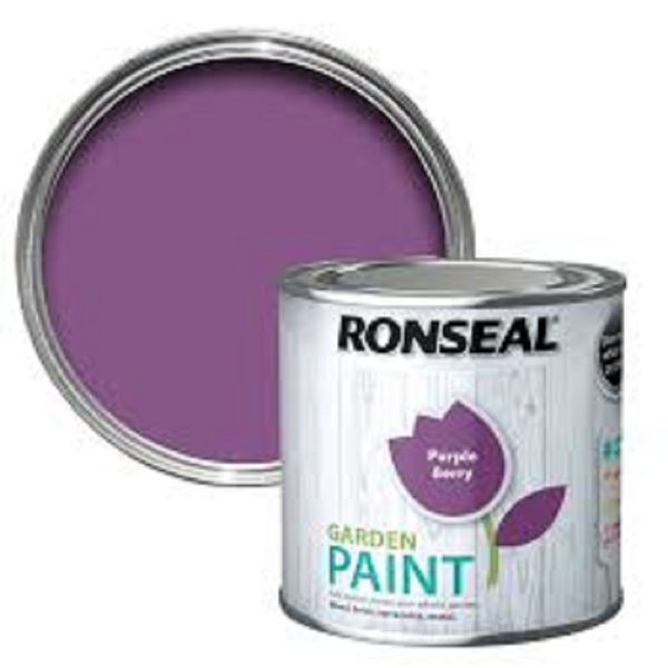 Picture of 2.5LTR  RONSEAL GARDEN PAINT  PURPLE BERRY