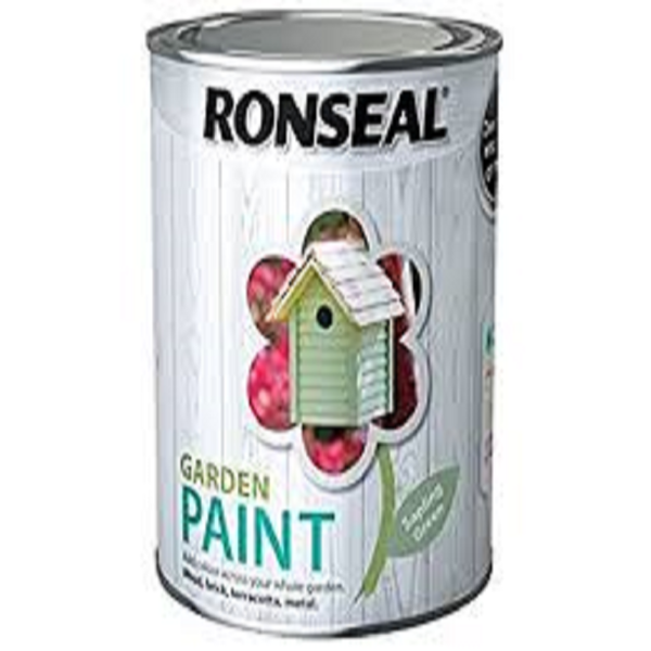 Picture of 2.5LTR  RONSEAL GARDEN PAINT  SAPLING GREEN