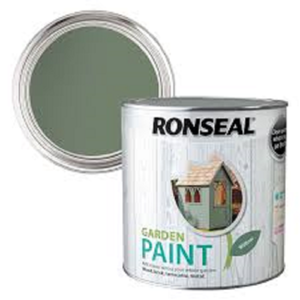 Picture of 2.5LTR  RONSEAL GARDEN PAINT  WILLOW