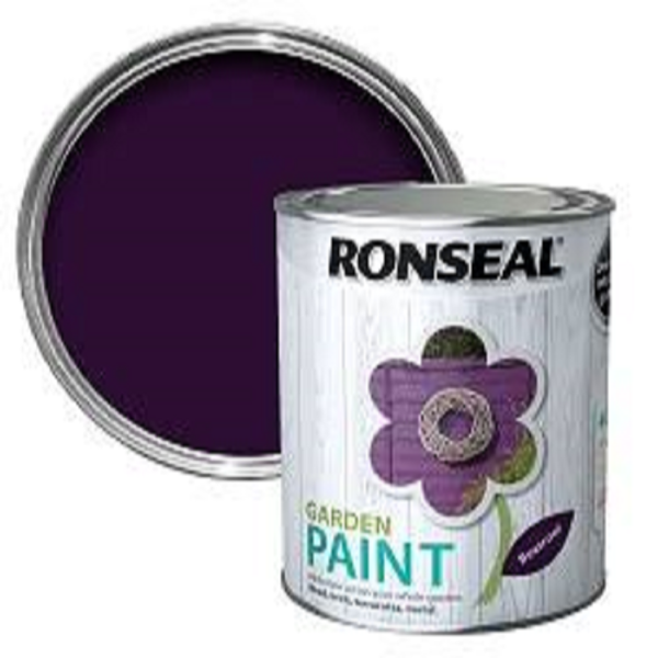 Picture of 250ML RONSEAL GARDEN PAINT BEETROOT