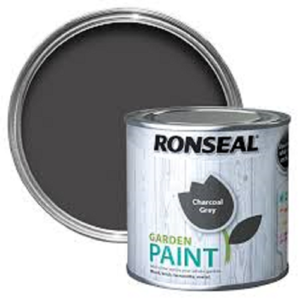 Picture of 250ML RONSEAL GARDEN PAINT CHARCOAL GREY