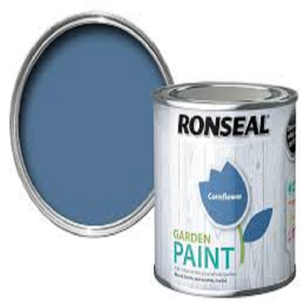 Picture of 250ML RONSEAL GARDEN PAINT CORNFLOWER