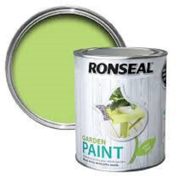 Picture of 250ML RONSEAL GARDEN PAINT LIME ZEST