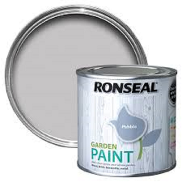 Picture of 250ML RONSEAL GARDEN PAINT PEBBLE
