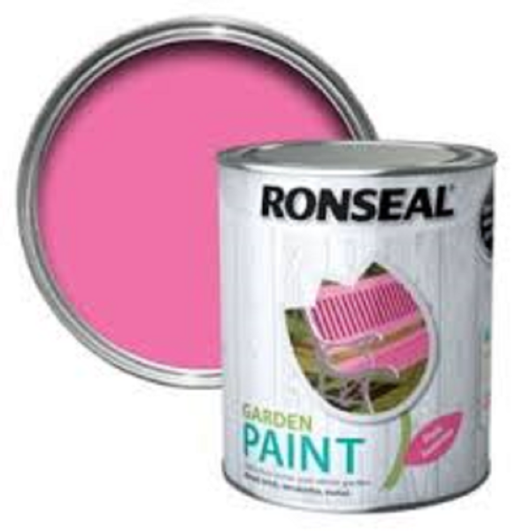 Picture of 250ML RONSEAL GARDEN PAINT PINK JASMINE