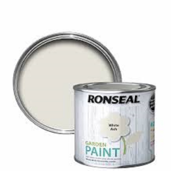 Picture of 250ML RONSEAL GARDEN PAINT WHITEASH