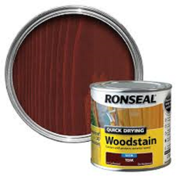 Picture of 250ML RONSEAL Q/D WOODSTAIN TEAK
