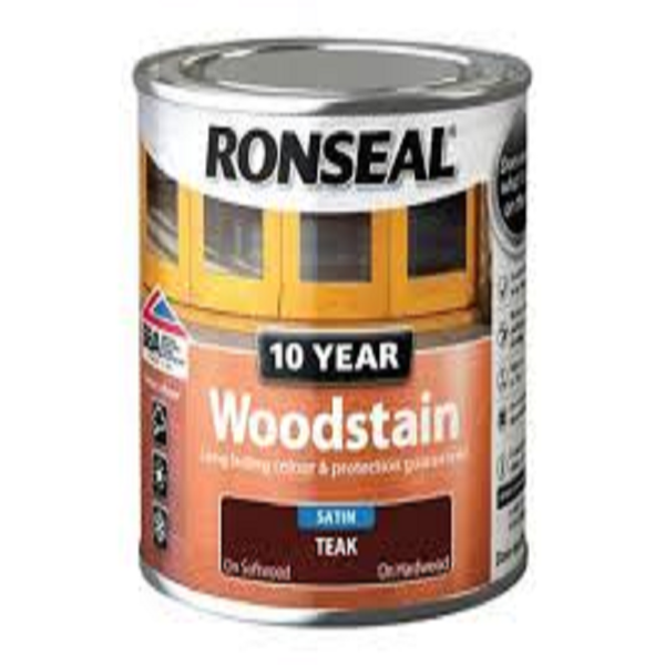Picture of 250ML RONSEAL TEAK 10 YEAR WOODSTAIN