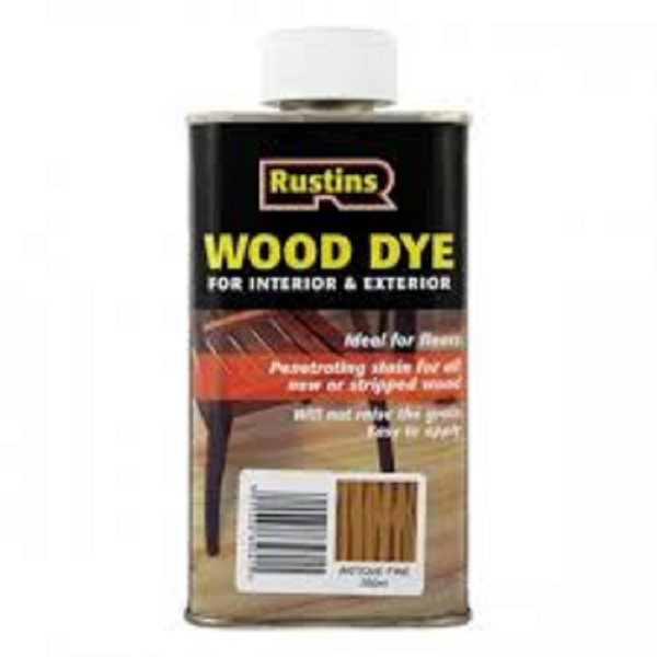 Picture of 250ML RUSTINS WOOD DYE ANTIQUE PINE