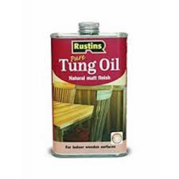 Picture of 500ML RUSTINS PURE TUNG OIL