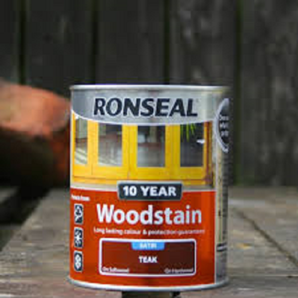 Picture of 750Ml  RONSEAL TEAK 10 YEAR WOODSTAIN
