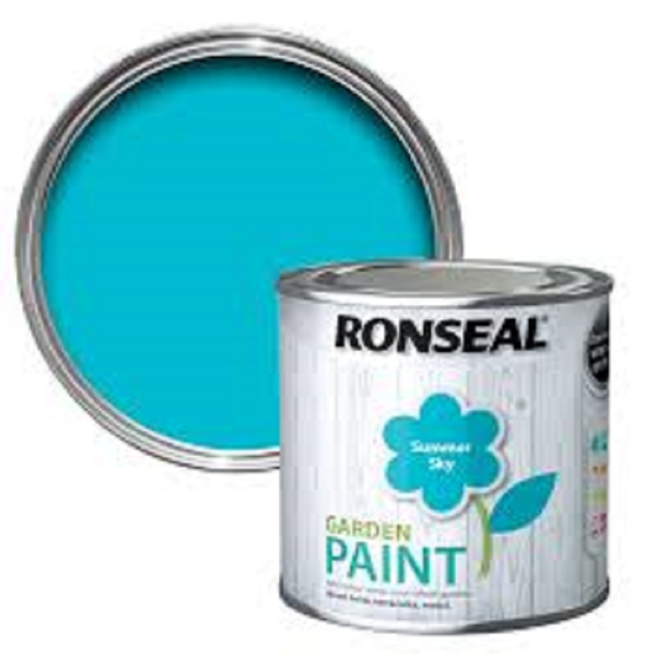 Picture of 750ML RONSEAL GARDEN PAINT  SUMMER SKY