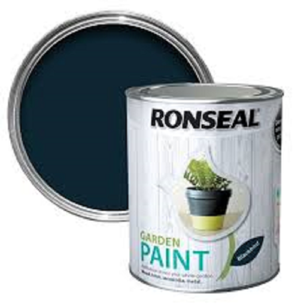 Picture of 750ML RONSEAL GARDEN PAINT BLACKBIRD