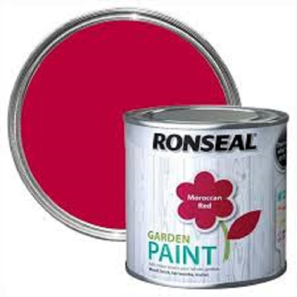 Picture of 750ML RONSEAL GARDEN PAINT MOROCCAN RED