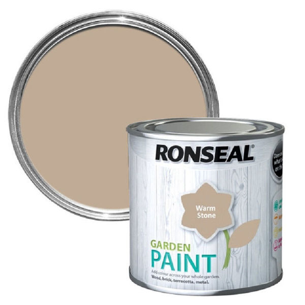 Picture of 750ML RONSEAL GARDEN PAINT WARM STONE