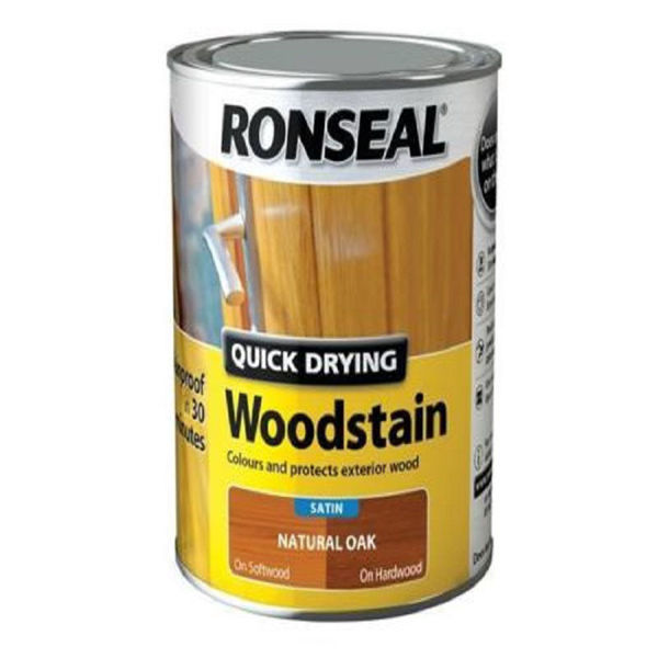 Picture of 750ML RONSEAL Q/D WOODSTAIN NATURAL OAK SATIN