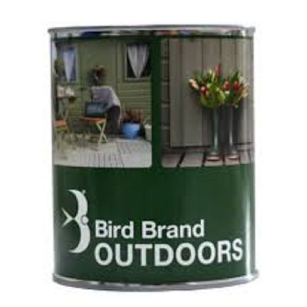 Picture of BIRD BRAND OUTDOOR PAINT RUSTIC BROWN 1L