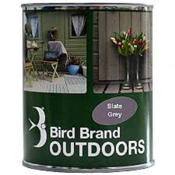 Picture of BIRD BRAND OUTDOOR PAINT SLATE GREY 1L