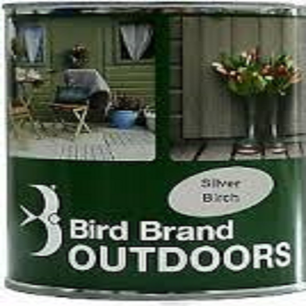 Picture of BIRD BRAND OUTDOOR PAINT SLIVER BIRCH 1L