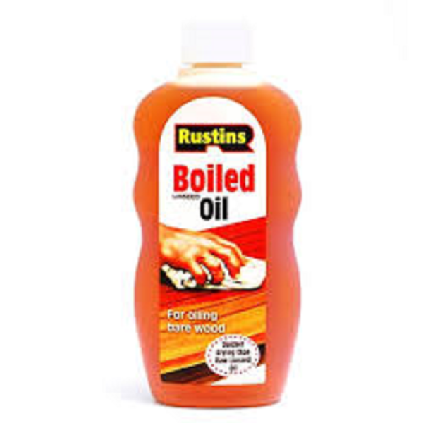 Picture of RUSTINS 300ML BOILED LINSEED OIL