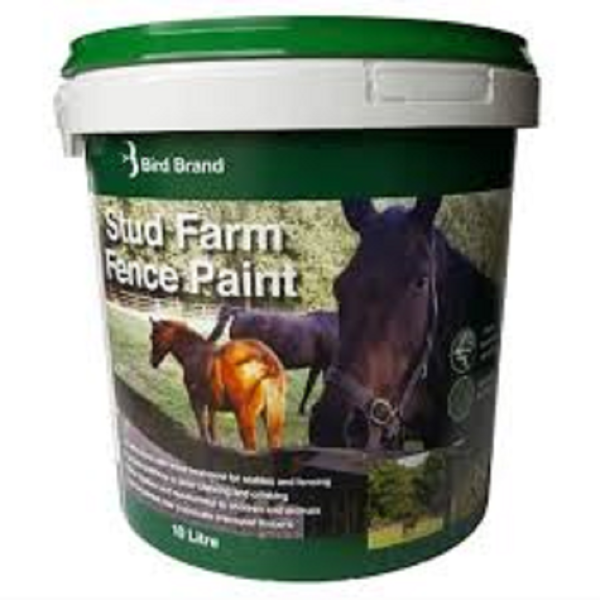 Picture of BIRD BRAND STUD FARM PAINT BLACK 10LT
