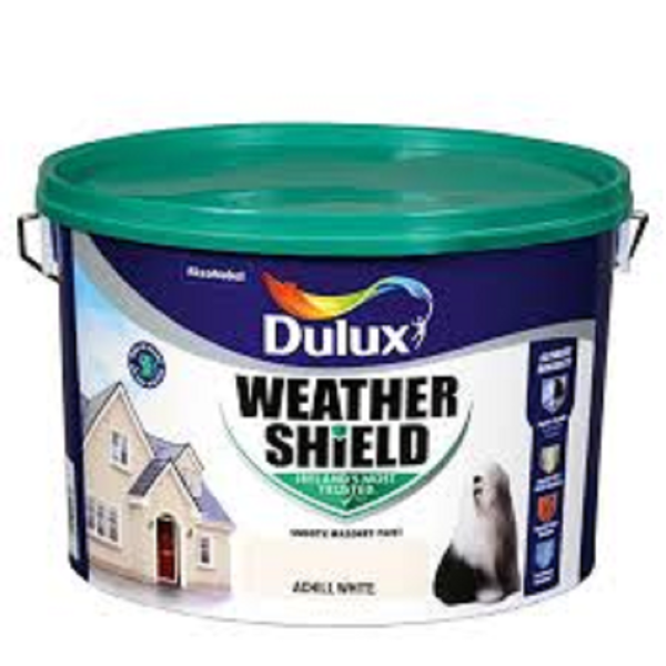 Picture of 10 LITRE DULUX WEATHERSHIELD ACHILL WHITE
