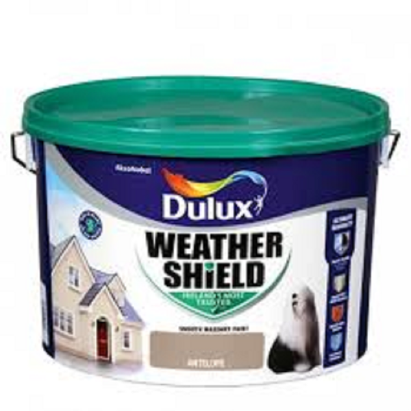 Picture of 10 LITRE DULUX WEATHERSHIELD ANTELOPE