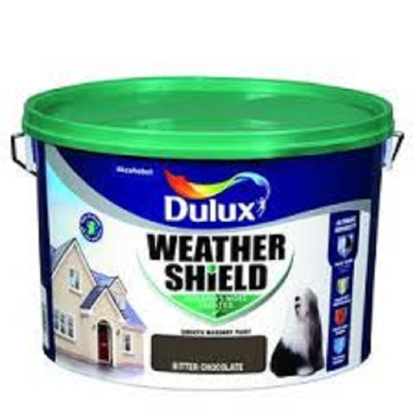 Picture of 10 LITRE DULUX WEATHERSHIELD BITTER CHOCOLATE